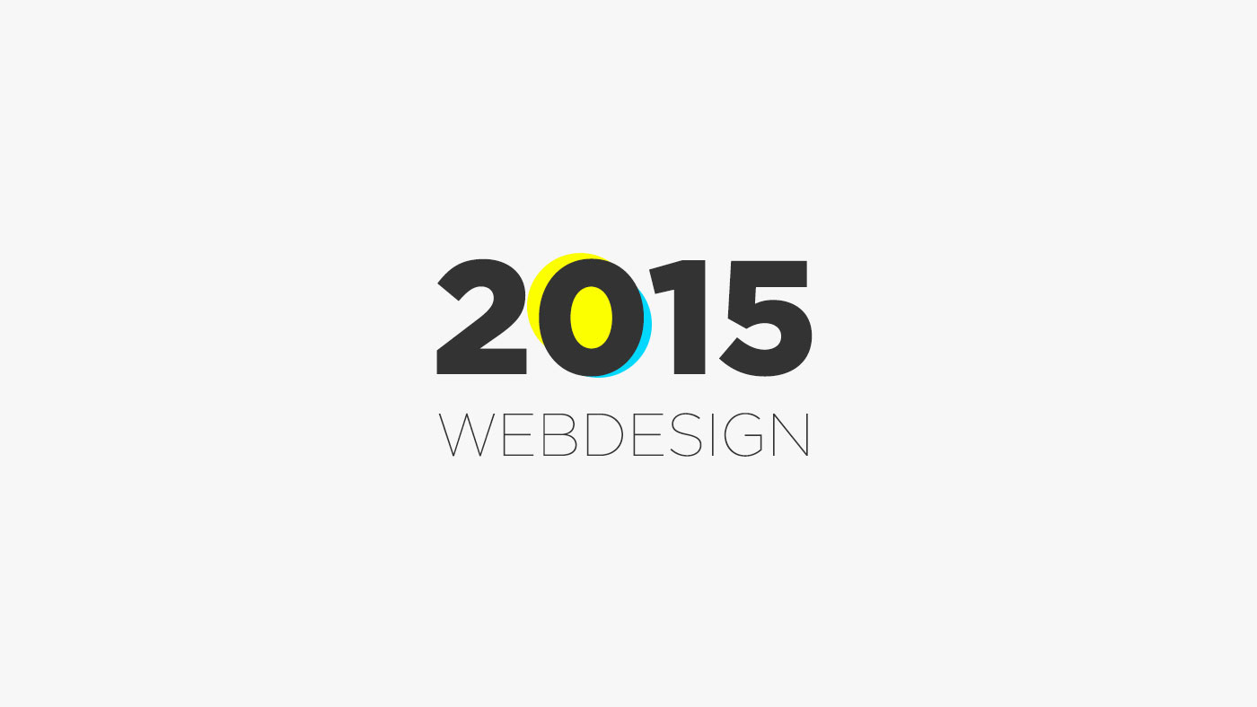 Webdesign trendek melyek 2015-ben dominálni fognak