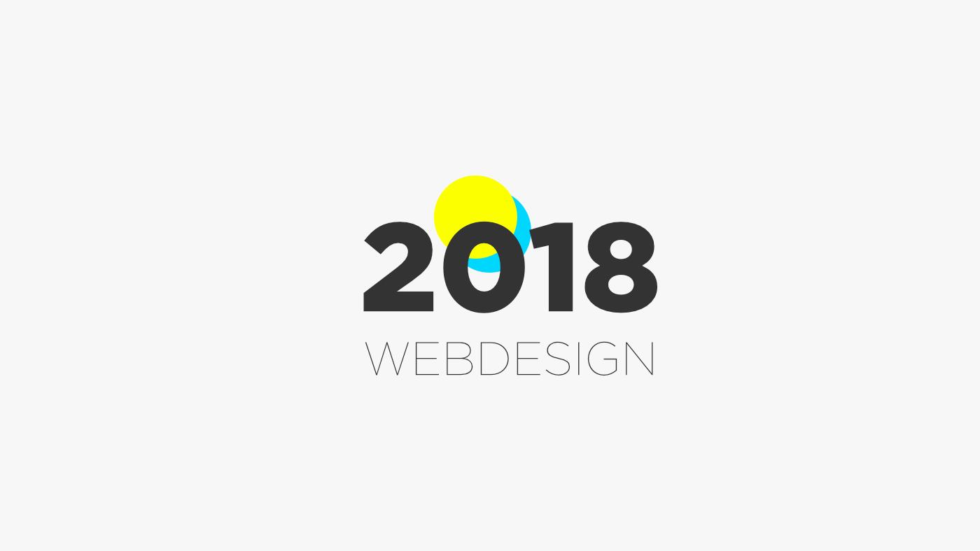 Webdesign trendek melyek dominálni fognak 2018-ban