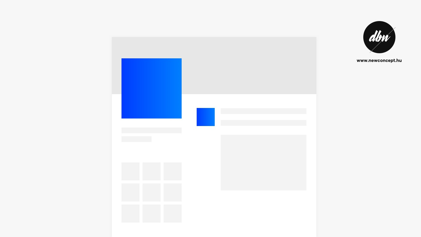 Facebook profilkép méret