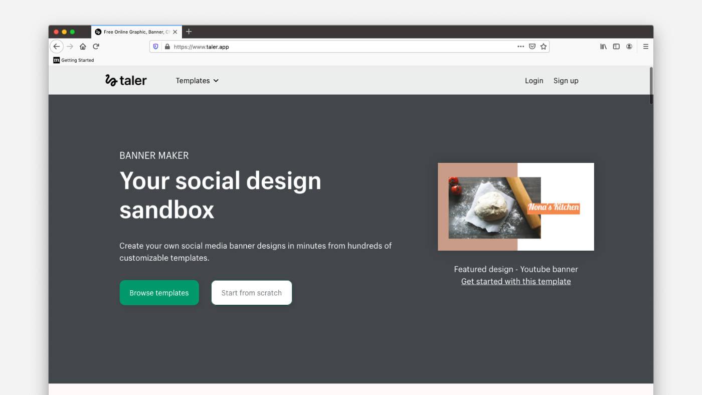 Taler ingyenes online képszerkesztő program