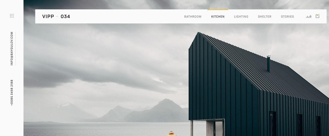 minimalist UI to improve UX