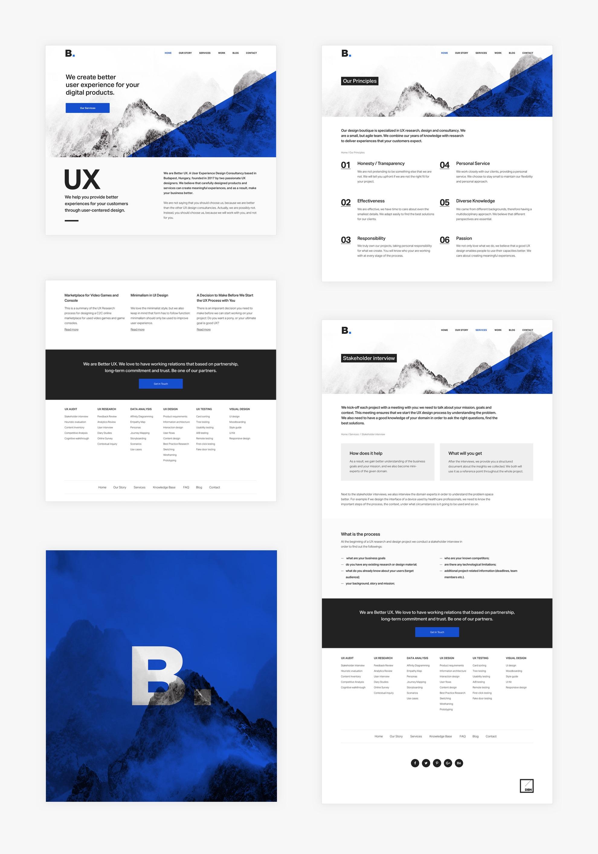 Better UX - Reszponzív webdesign - Üzleti reszponzív weboldal készítés