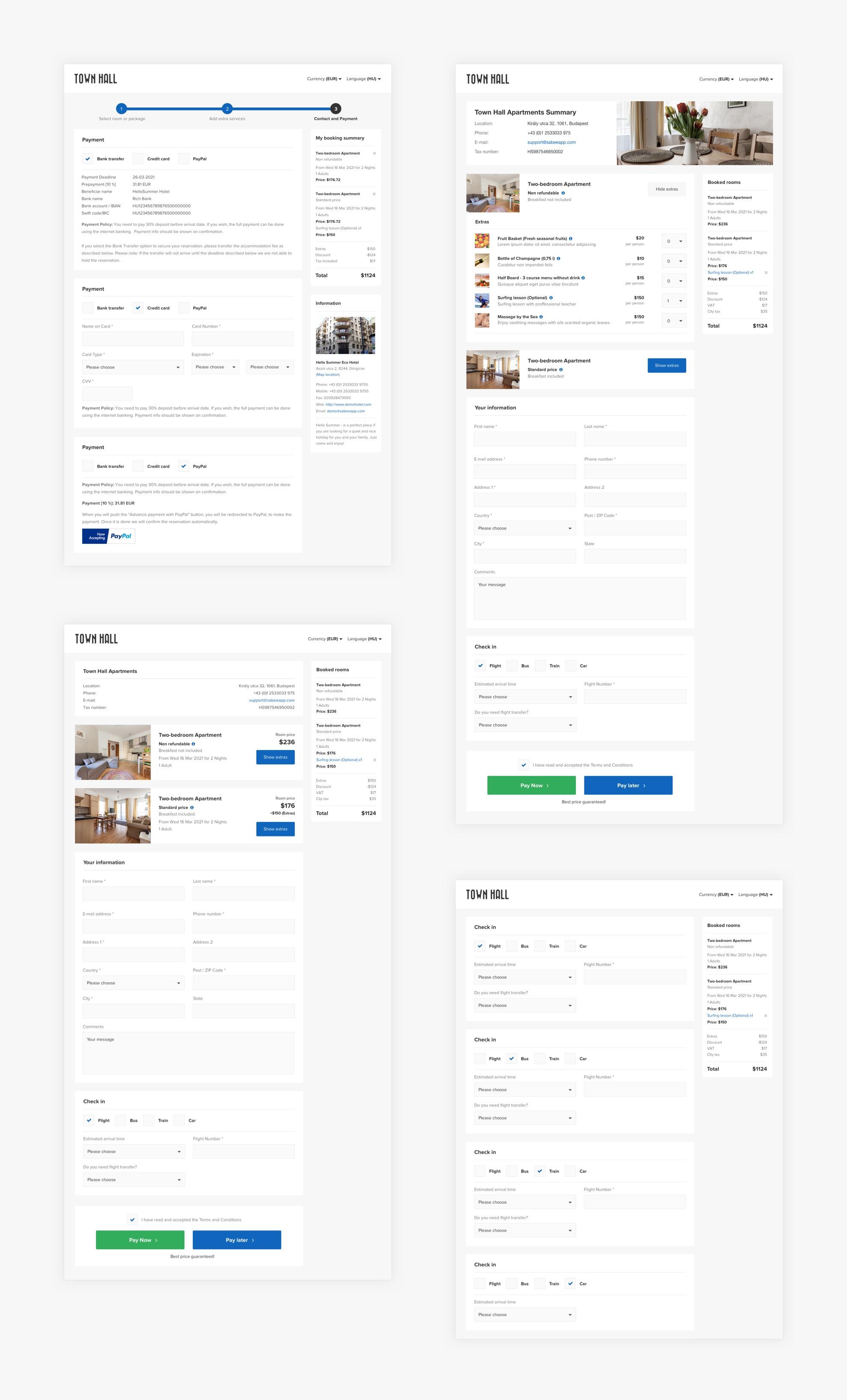 SabeeApp - Reszponzív webalkalmazás - Üzleti reszponzív webalkalmazás tervezés