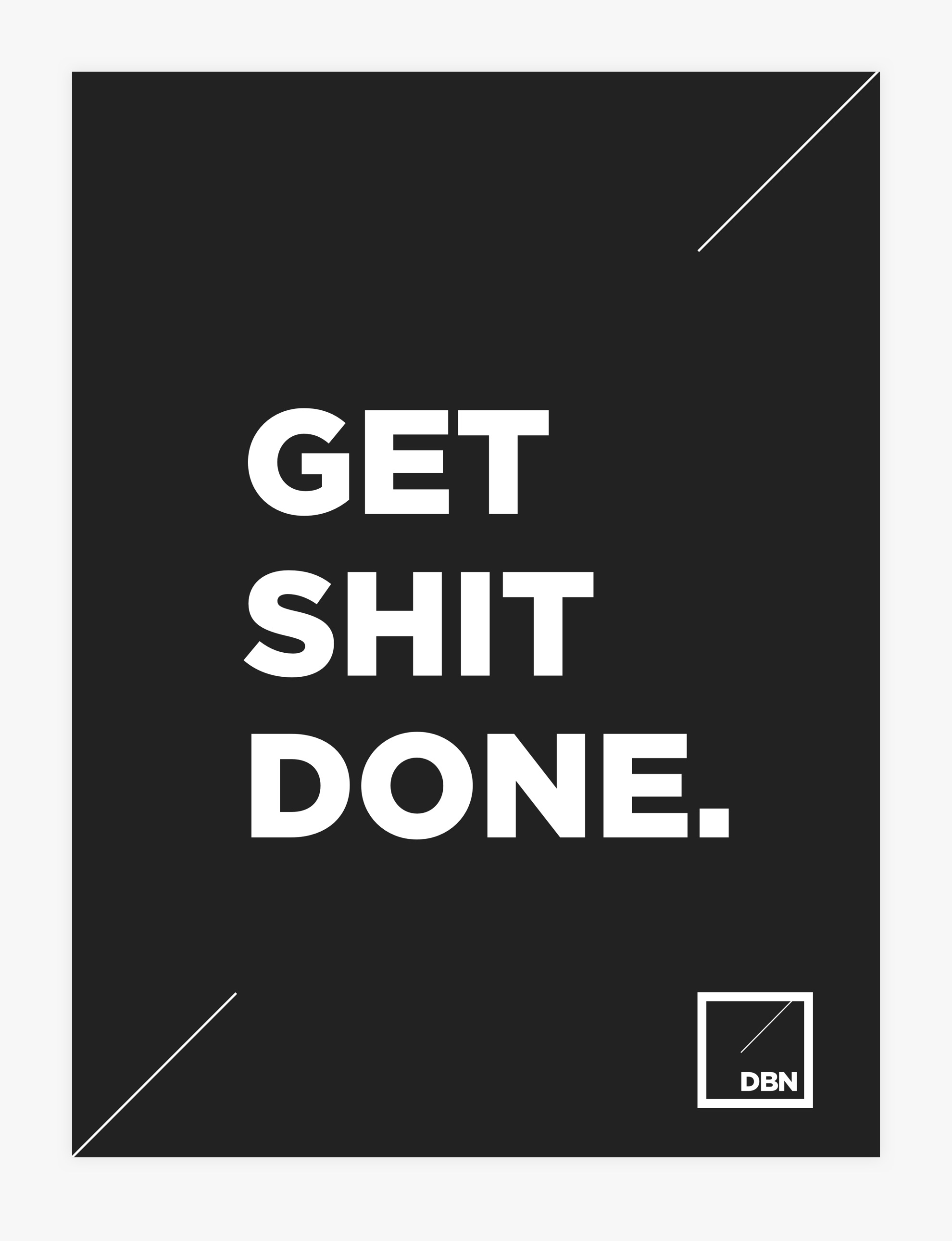 Design By Newconcept - Get Shit Done!