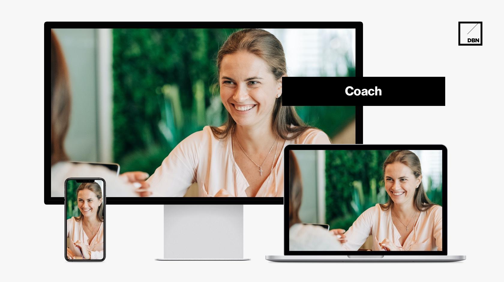 Coach weboldal készítés