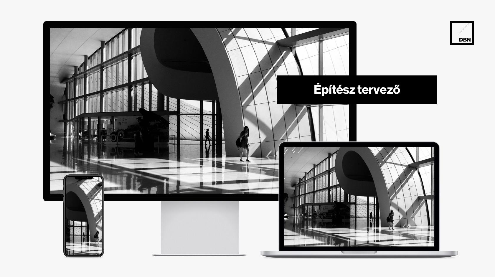 Építész, tervező mérnöki weboldal készítés