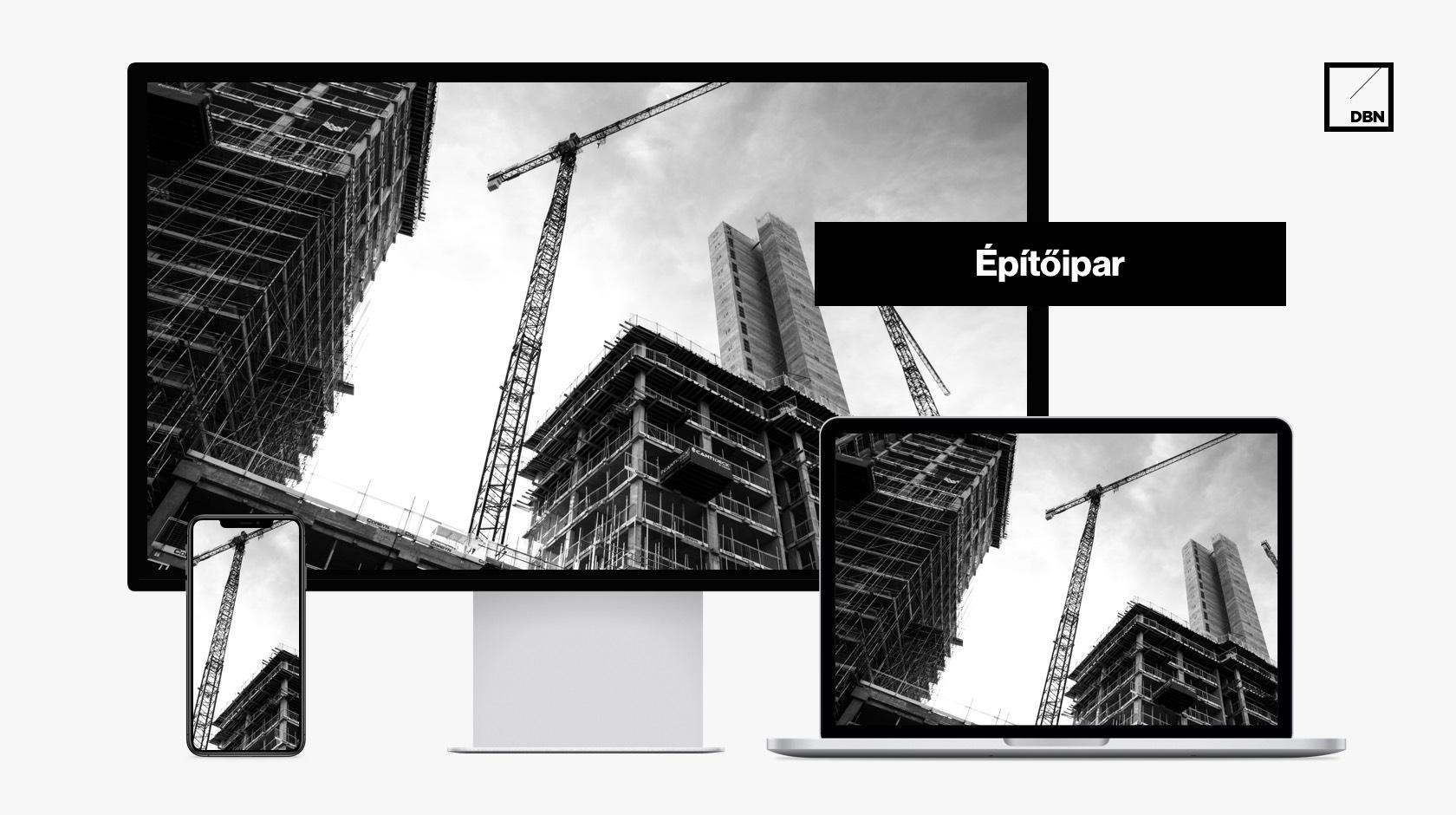 Építőipari weboldal készítés
