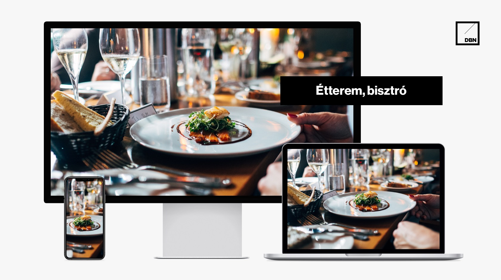 Étterem, bisztró, catering SEO weboldal készítés