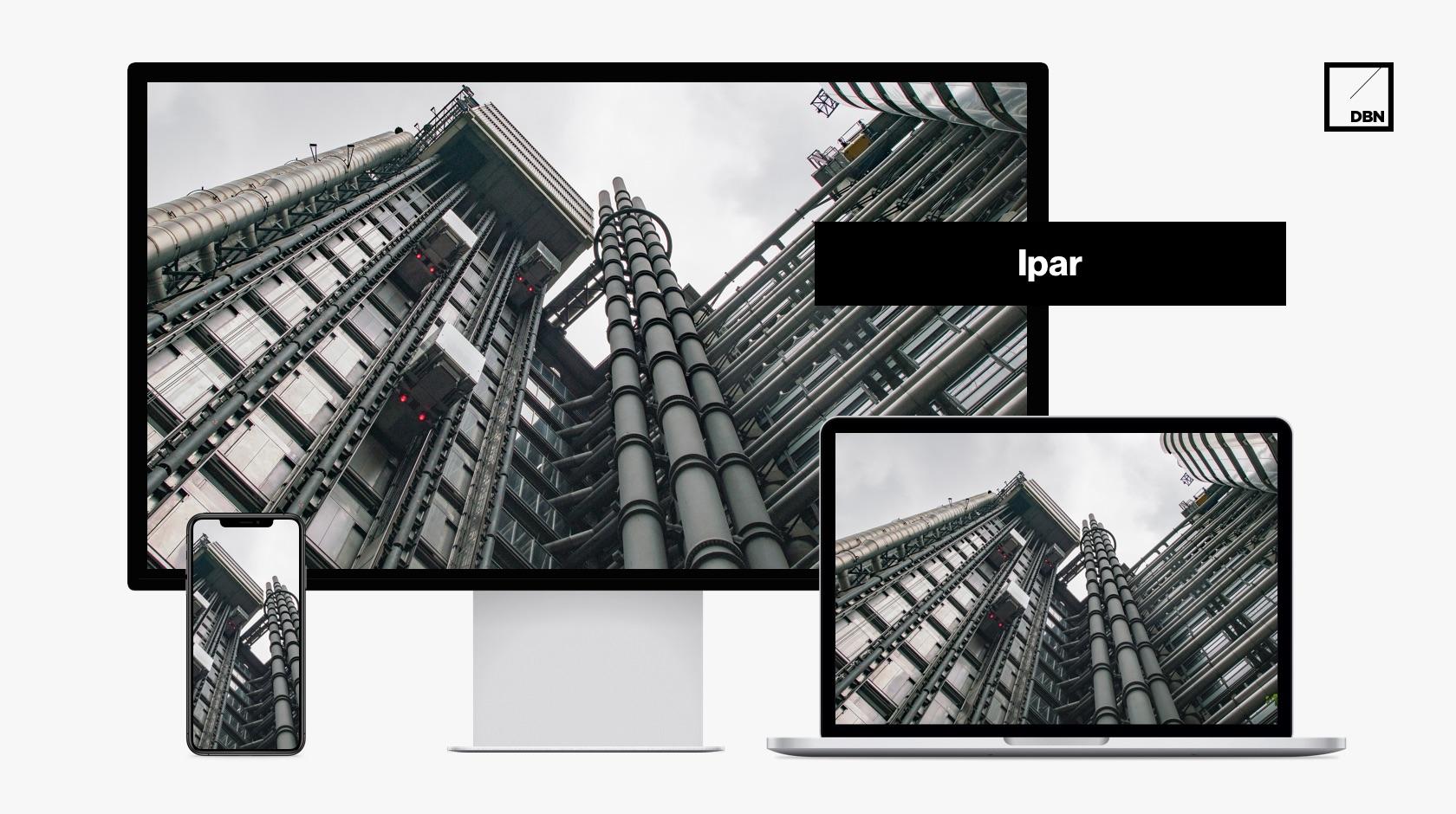 Ipari weboldal készítés