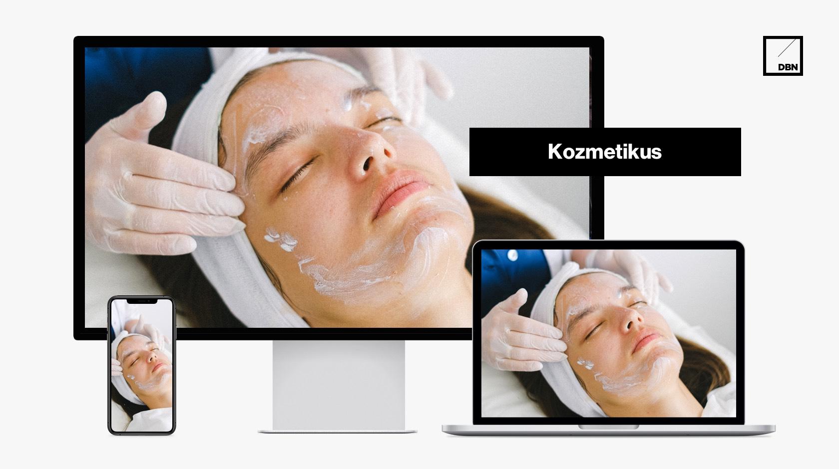 Kozmetikus weboldal készítés