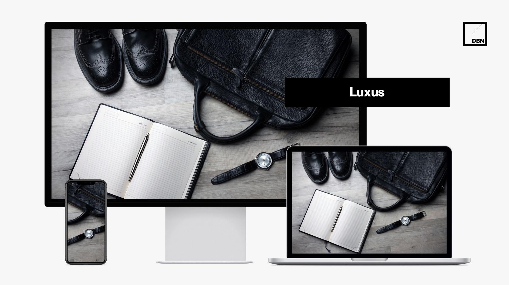 Luxus weboldal készítés